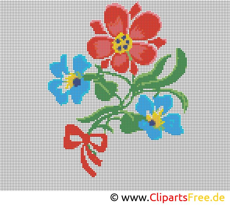 Blumen sticken vorlagen sticken n hen stickerei und blumen - Sticken vorlagen kostenlos ...
