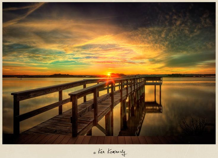 no descriptionBeautiful Scene, Places Ives, Favorite Places, Augustine Florida, Beautiful Places, Ken Kamineski, Kamineski Photography, Florida Sunsets, Nature Sunsets