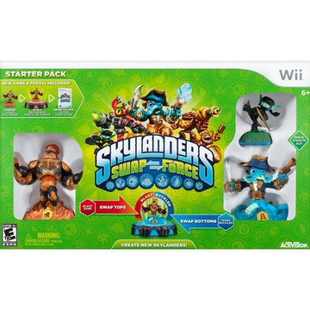Skylanders Swap Force Starter Pack (Wii), Multicolor