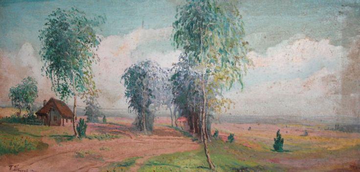 1964 Impressionist Painting Oil Landscape, Signed by WORLDARTSHOP on Etsy https://www.etsy.com/listing/193440047/1964-impressionist-painting-oil