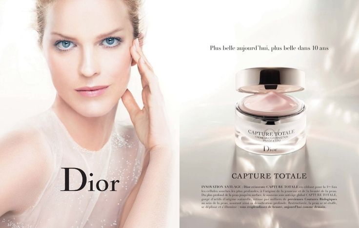 Dior Skin Care Advertising