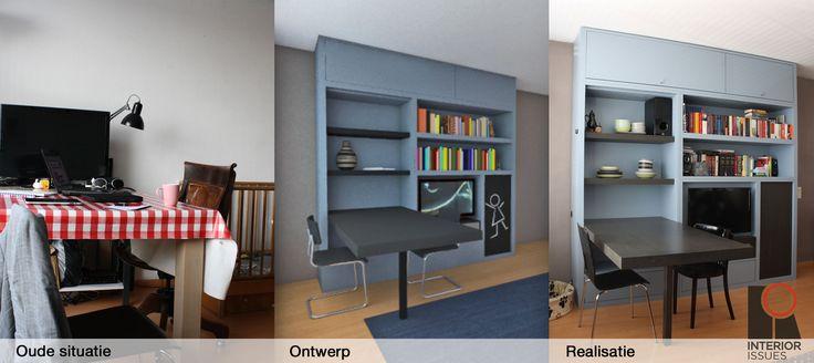 17 beste idee n over kleine kamers op pinterest kleine kamer inrichting studio appartementen - Idee bergkast ...
