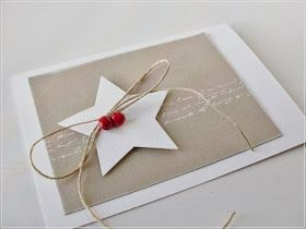 star card; use jingle bell instead of beads