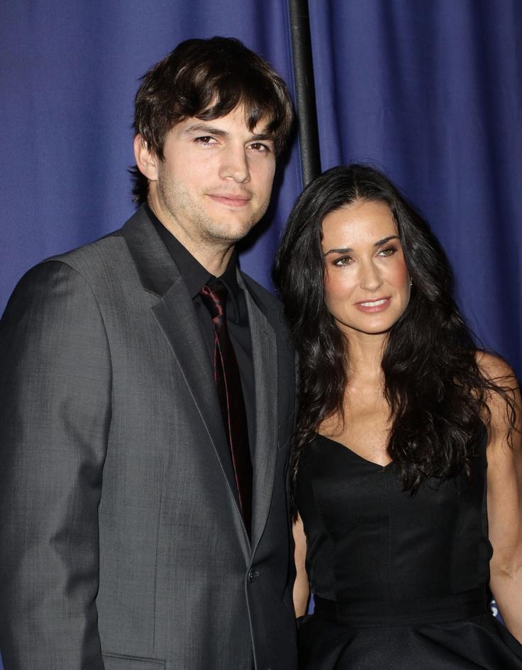 Ashton Kutcher Files to Divorce Demi Moore