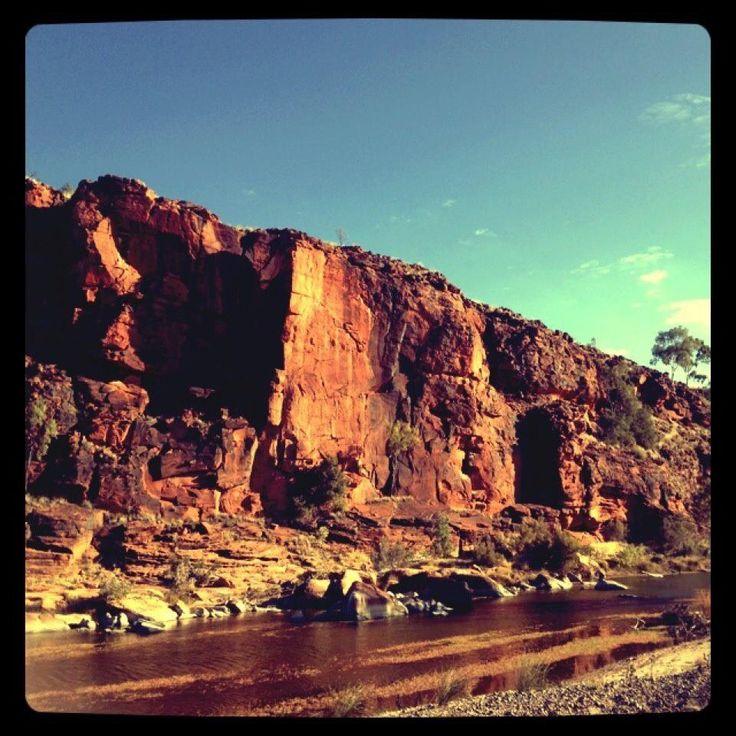 Along the Finke River 4x4 track, N.T, Australia