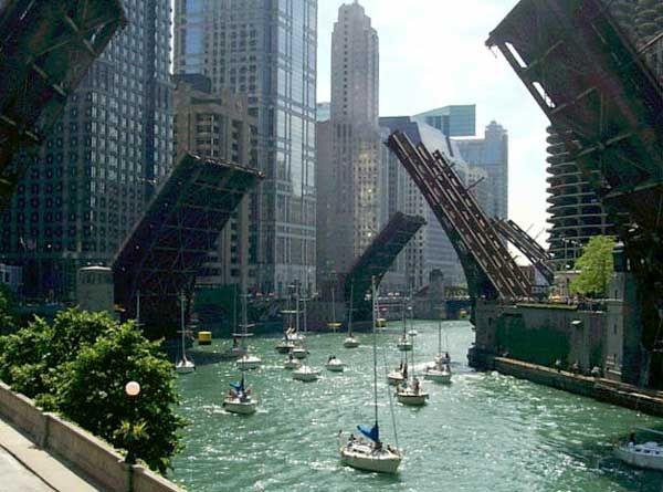 chicago's river - Google Search