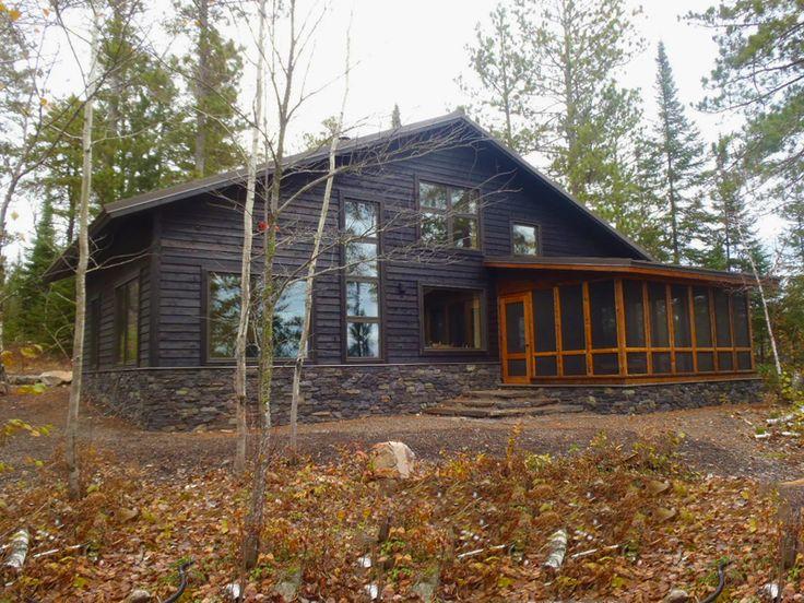 Ojibway Lake Cabin Wagner Zaun Architecture House Dog