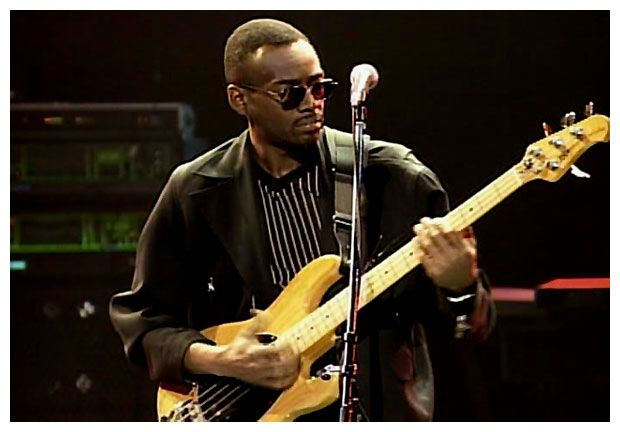 Bernard Edwards, smoothest funk player ever!  Good Times, We are Family.....Oh yeah!