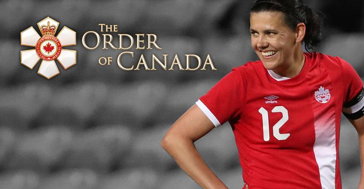 Christine Sinclair recognized with Order of Canada | Canada Soccer - http://www.canadasoccer.com/christine-sinclair-recognized-with-order-of-canada-p160980