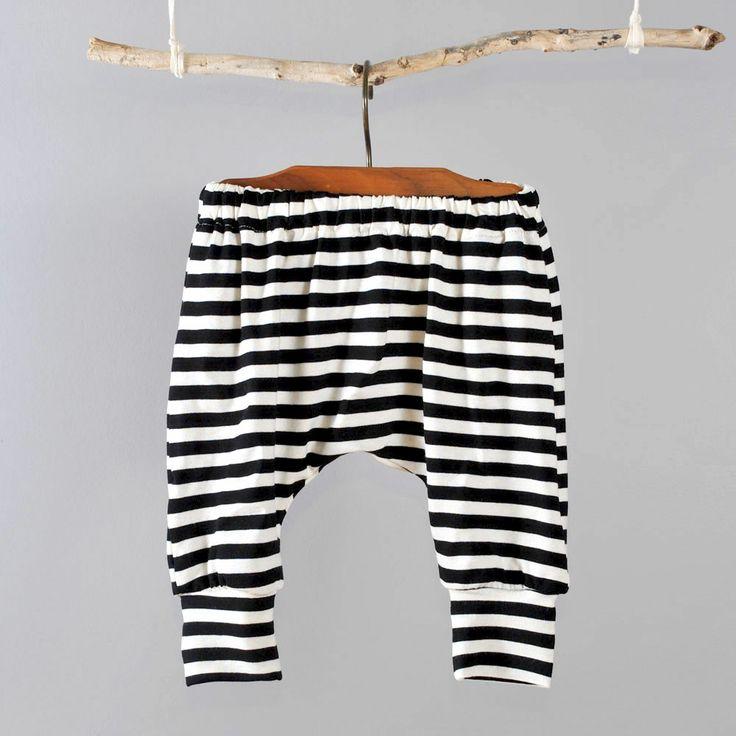 I love the baggy harem pants pattern