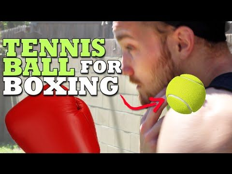 3 Unique Boxing Drills Using a Tennis Ball