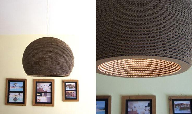 meuble de salon moderne et lampe suspendue design par Duna