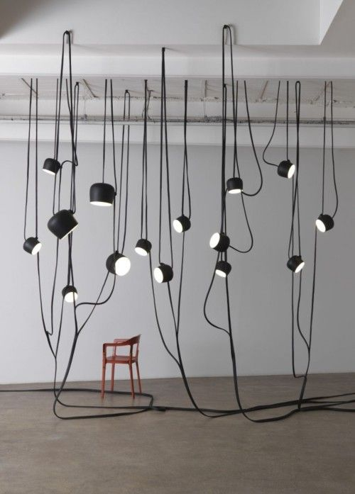 AIM pendant lamp by the Bouroullec brothers for #FLOS
