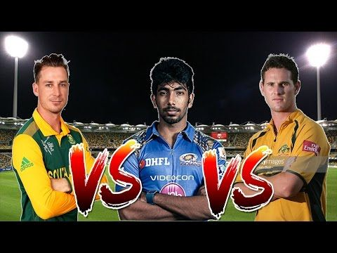 Dale Steyn VS Shaun Tait VS Jasprit Bumrah | Who is the best disastrous ...