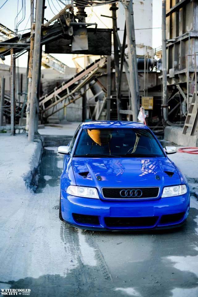 Audi S4 beautiful stance