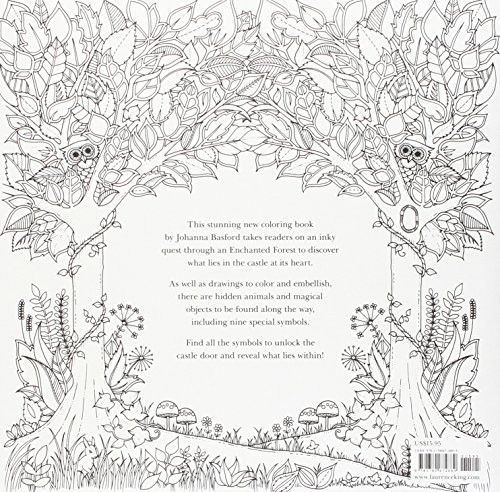 25 Best Ideas About Enchanted Forest Coloring Book On Pinterest