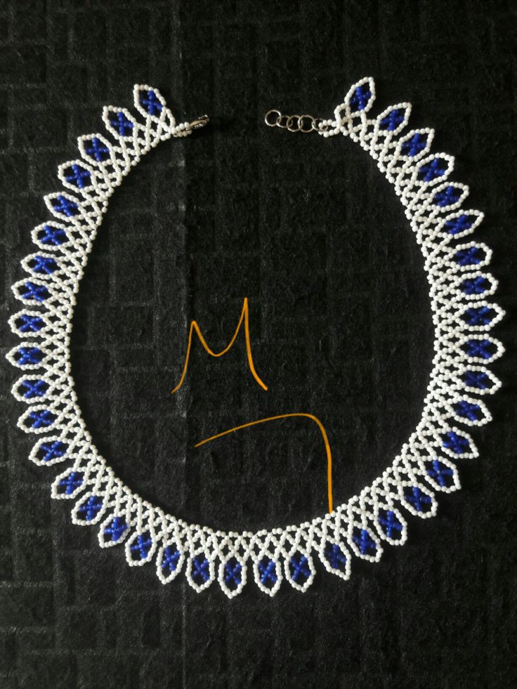Kum boncuk kolye #bead necklace #handmade #beading handmade