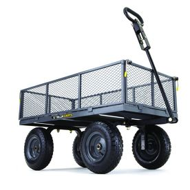 Superior Shop Gorilla Carts 6 Cu Ft Steel Yard Cart At Lowes.com