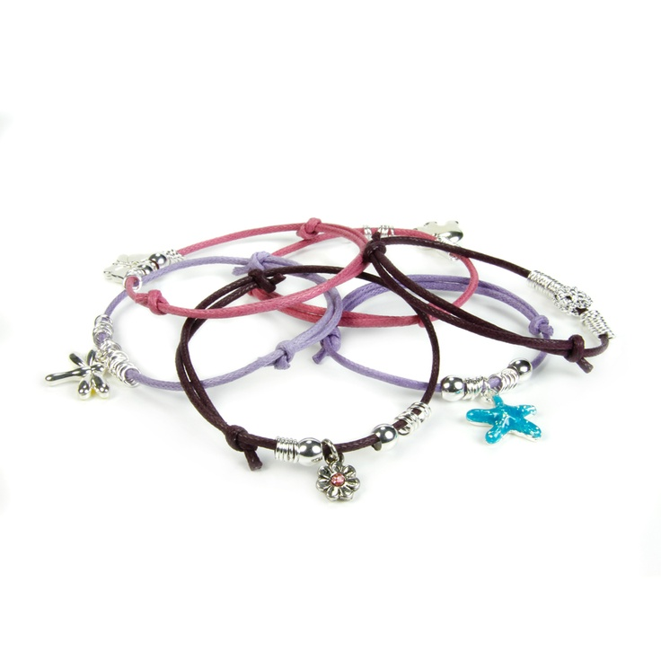Friendship Charm Bracelet Pippin Kit RRP £12.99 from Burhouse Beads
