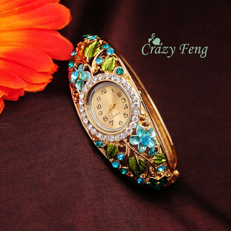 Cheap watch laptop, Buy Quality watch clasp directly from China watches men and women Suppliers:           Free Shipping GENEVA Bangle Watches 18k Gold Filled Crystal Women's Bracelet Cuff Butterfly Dress Quartz
