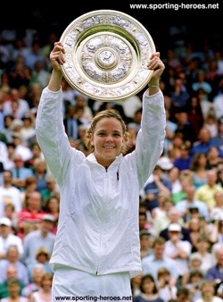 Lindsay Davenport winning Wimbledon! Lindsay, one of my favorite all-time tennis champions!!!!