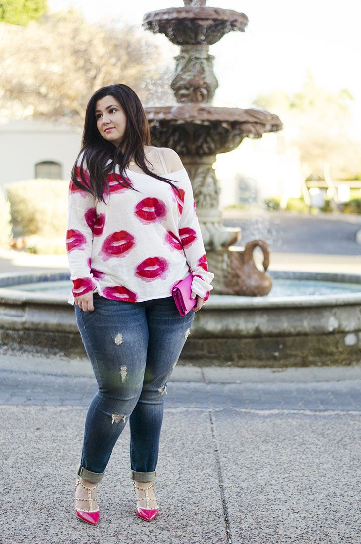 what to wear valentines day plus size casual crystal coons