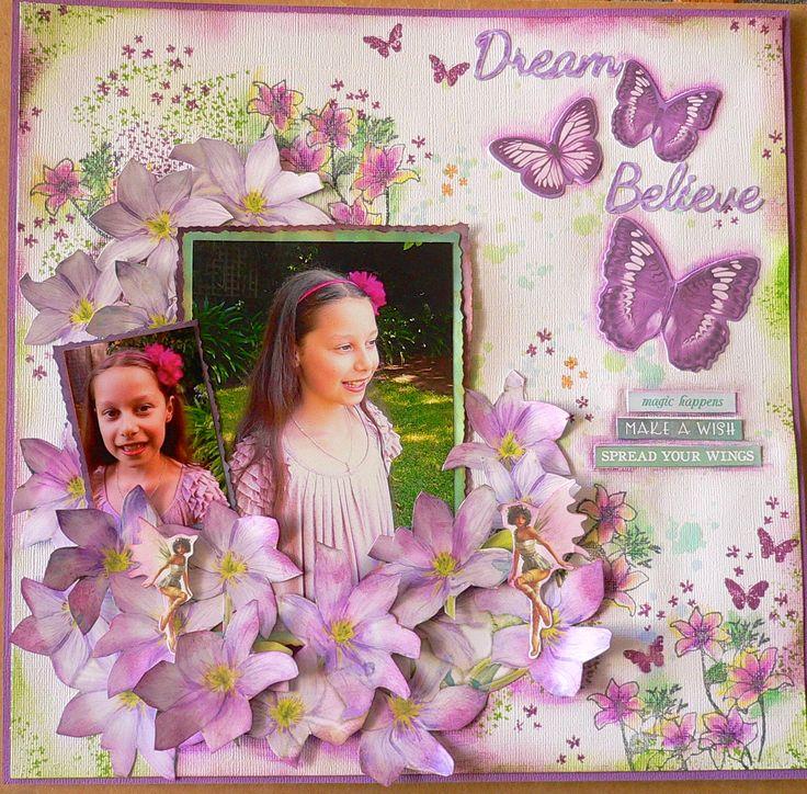 Kaisercraft - Fairy Dust - Adriana Bolzon