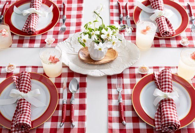 Best 20 red gingham ideas on pinterest no signup required for Gingham decorating ideas