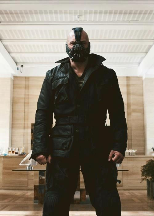 "bane: ""No one cared who I was until I put on the mask"" <<< false, I've loved you ever since I saw you in Bronson 2008, Tom Hardy <3"