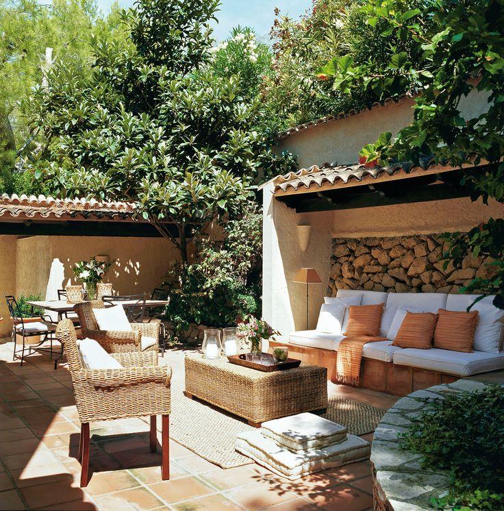 Las 25 mejores ideas sobre bancos al aire libre en - Bancos de terraza ...