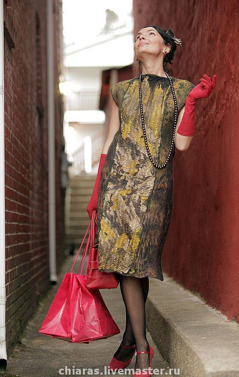 """Купить авторское платье """"True Lady"""" - авторское платье, демисезонное платье, платье ручной работы"""