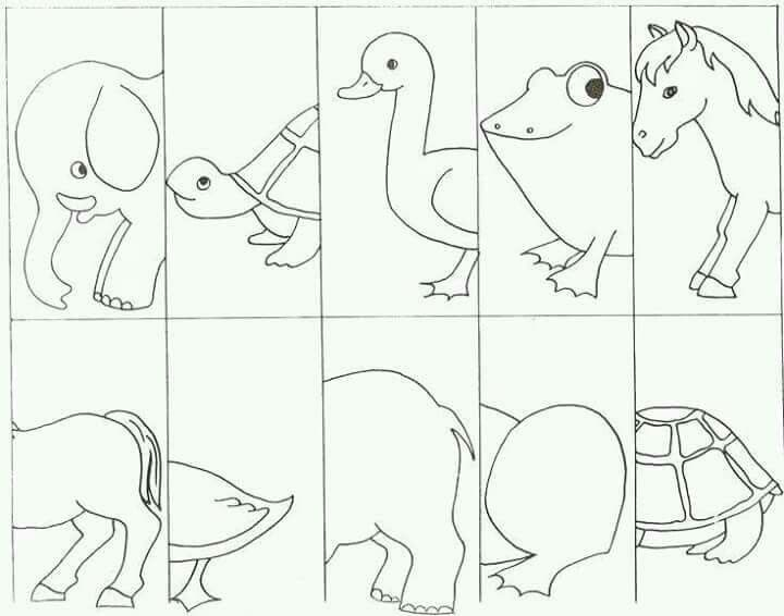 crazy creatures coloring pages - photo#4