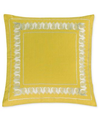Echo Jaipur European Pillow Sham - Bedding Collections - Bed & Bath - Macy's