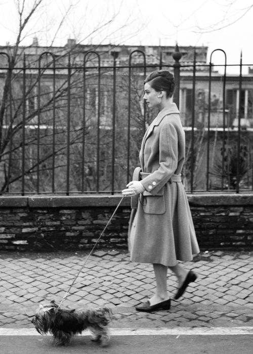 Audrey Hepburn, Rome 1959