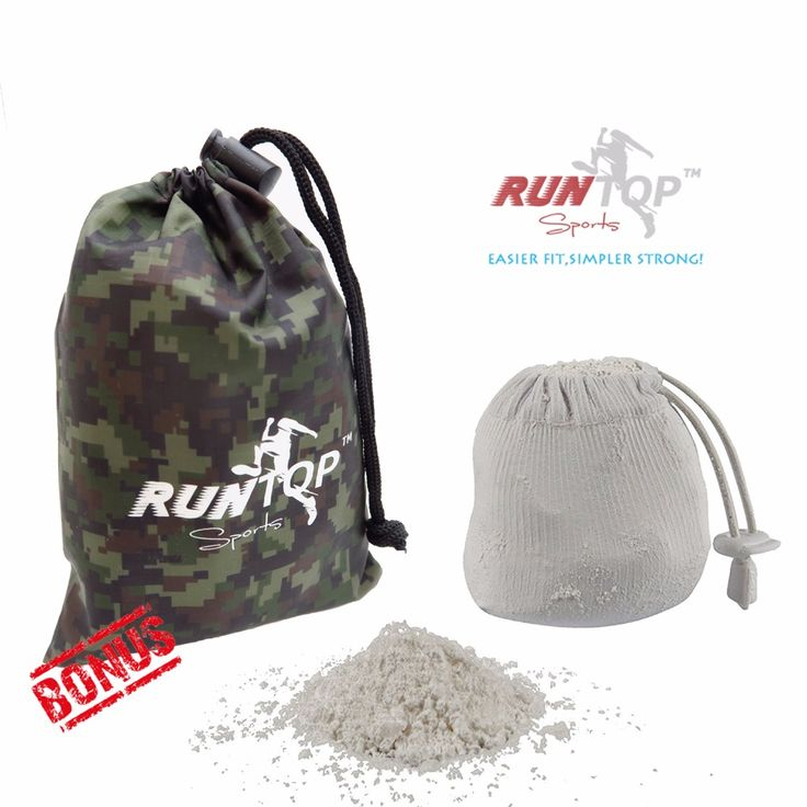 RUNTOP 2.4OZ Refillable Magnesium Carbonate GYM Chalk Ball for Weight lifting Crossfit WODS Rock Climbing PowerLifting No Slip