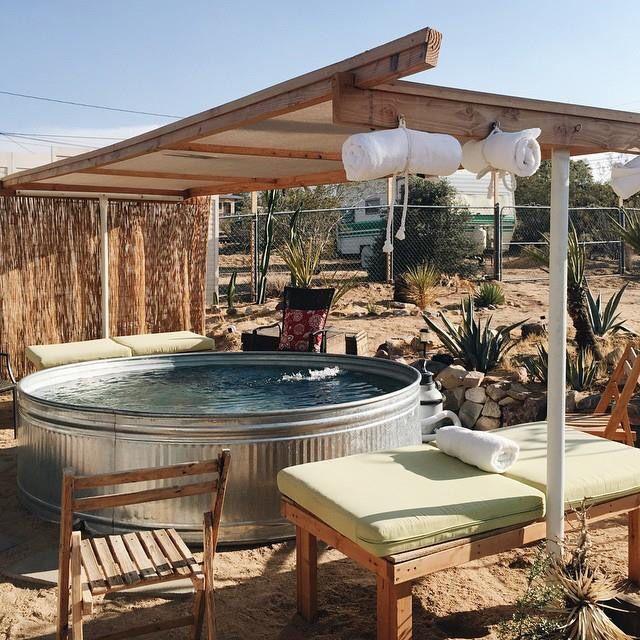 Cowboy pool