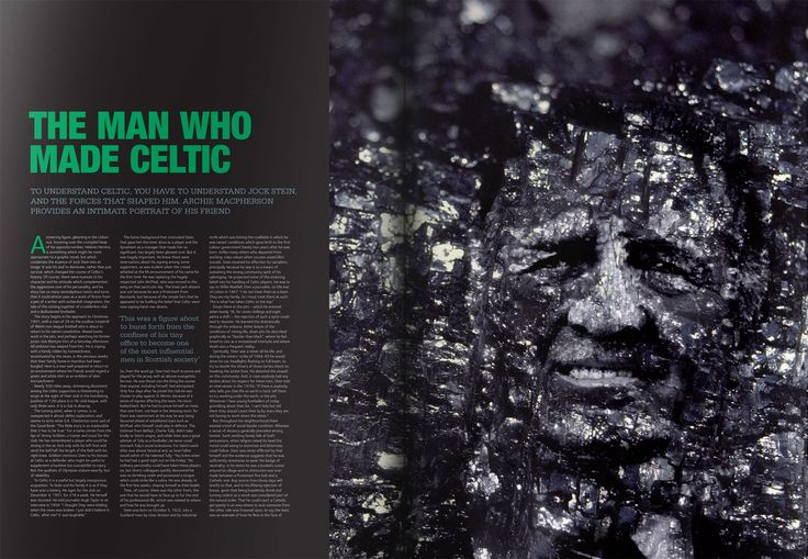Celtic Football Club #book #design #layout