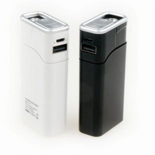 Внешний аккумулятор-зажигалка 6500mAh с фонариком ...