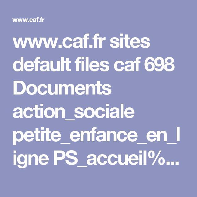 www.caf.fr sites default files caf 698 Documents action_sociale petite_enfance_en_ligne PS_accueil%20loisirs.pdf