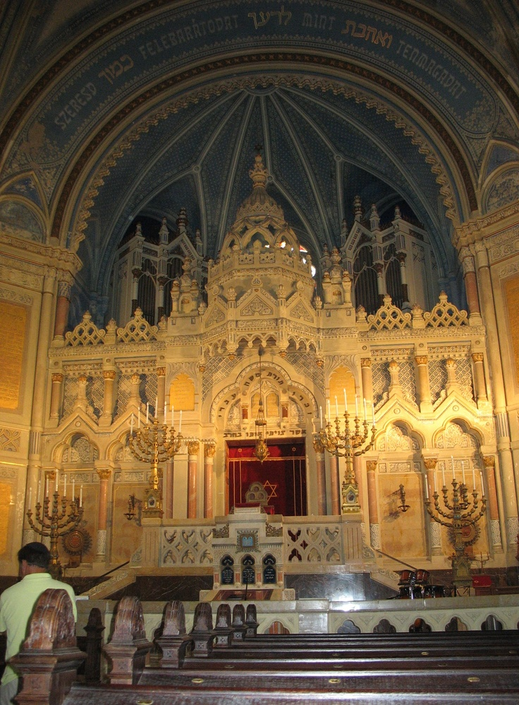 Synagogue in Szeged, Hungary