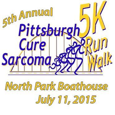 5th Annual Pittsburgh Cure Sarcoma 5K Cancer Run/Walk