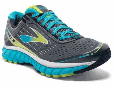 Brooks Ghost 9 - Women's Athletic Shoe - Click to enlarge title=