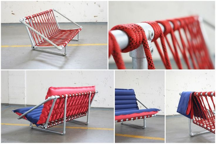 kee klamp furniture projects | Rimini Pipe Couch [Made with Kee Klamp]