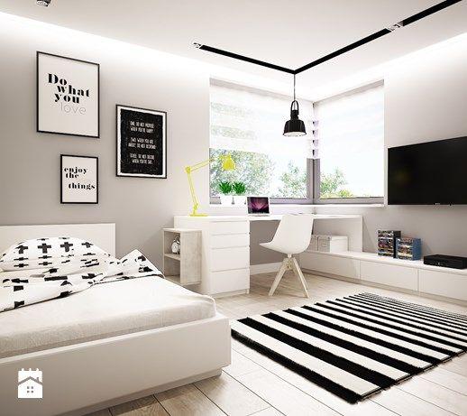 Pokoik dla chłopca 15 m2 - zdjęcie od studio_projektowe_mandala