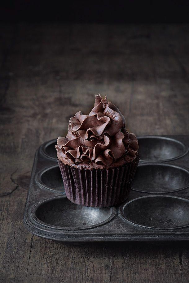 ~ cupcakes de chocolate ~