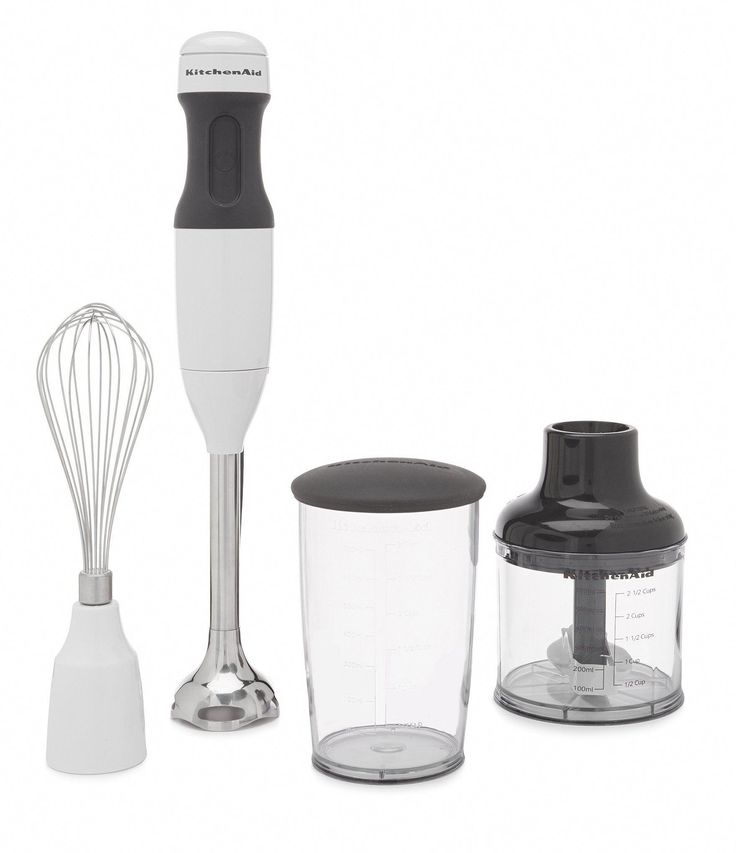 Kitchenaid 3speed hand blender white kitchengadgets in