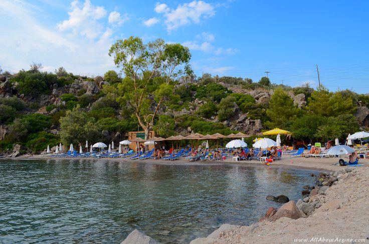 Sarpa beach, Aegina