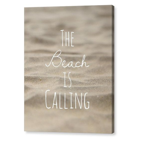 Home Decor, Coastal Decor, Beach quotes funny, Beach quotes, beach quotes and sayings, beach decor, island life, seashell, beach, The Beach is Calling Tropical Wall art, Instant Download, Printable. Great for any beach decor or coastal decor in any room of the home. Check out