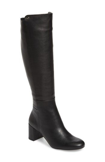 TARYN ROSE CAROLYN TALL BOOT. #tarynrose #shoes #
