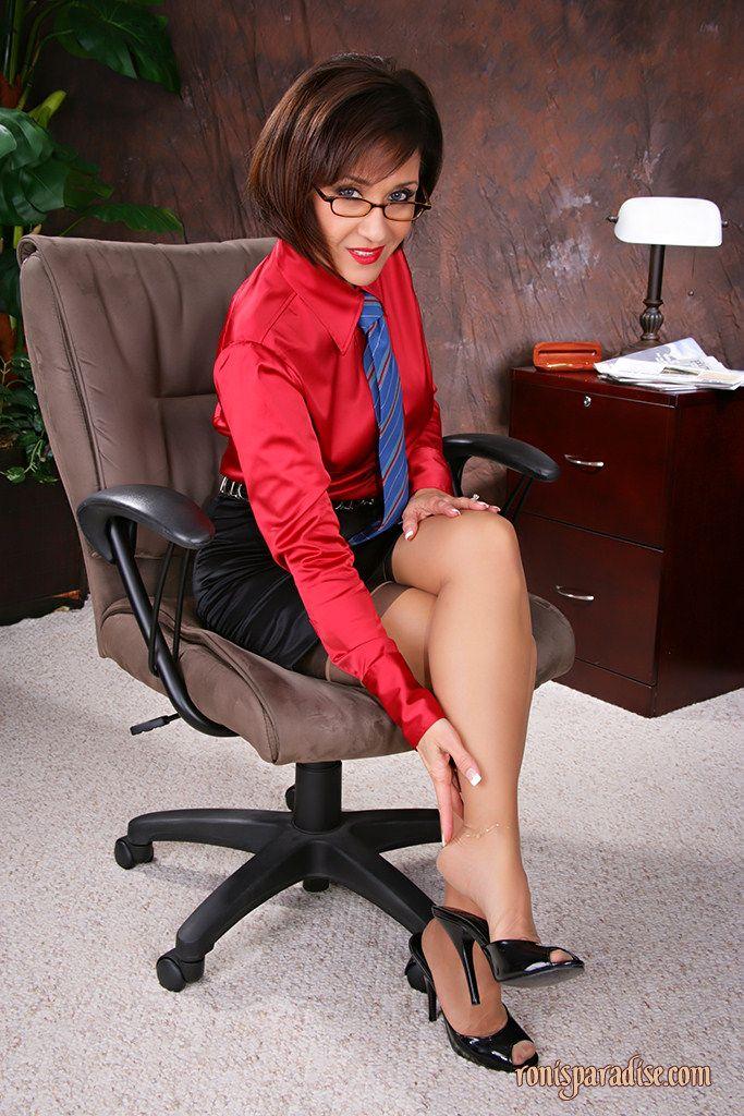 Businesswoman heels femdom